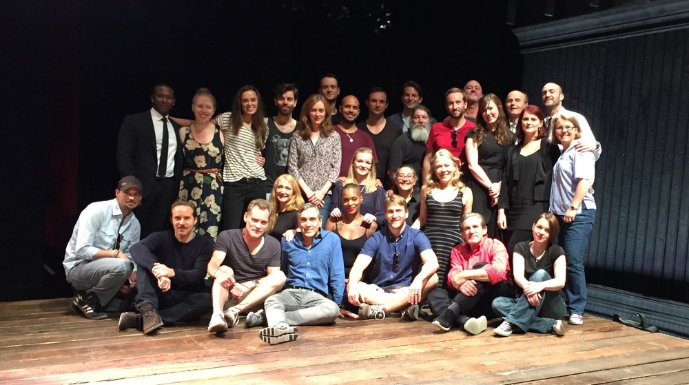 The Cast & Crew of THE ELEPHANT MAN at The Royal Haymarket