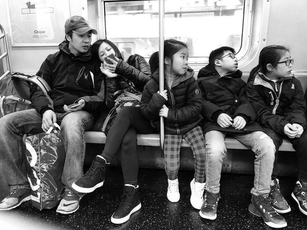 Family Outing no. 1 (Feb. 5, 2019)