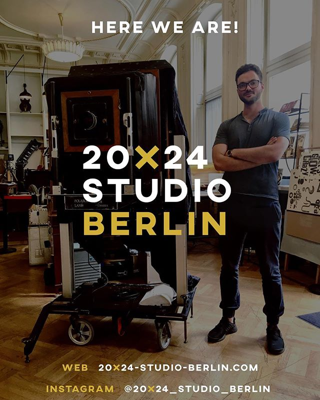 """Let's go! 👊 From today on, we start a new adventure in the history of 20x24"""" photography. 💥 #20x24studioberlin #20x24photography #20x24polaroid #analogphotography #filmphotography #insantfilm #polaroid #polaroidphoto #polaroidlove #20x24camera #analogfotografie #analog #analogfilm #photography #fotografie #fotoshooting #photoshooting #photoshoot #photo #photographer #photograph #instant #filmfotography #analogcamera #filmsnotdead #berlin #studio #studiophotography #follow #us"""
