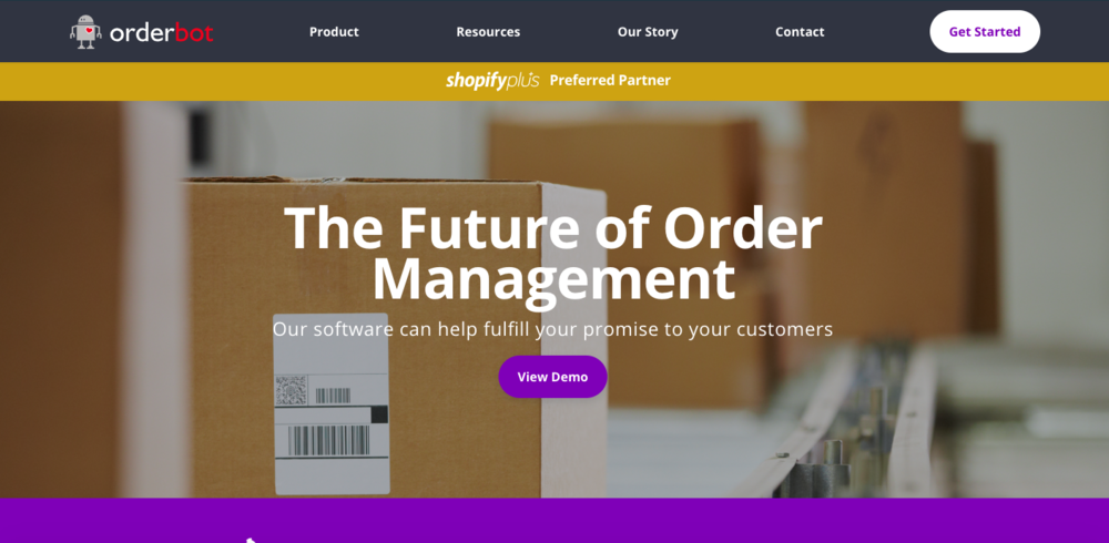 Orderbot - As the Sales and Marketing Director for Orderbot.com Karuna was responsible for the website redesign and marketing strategy that saved a failing startup and led them to massive growth the acquisition just 11 months later by Weblinc.