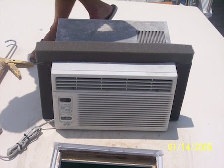 STEP 5 - A/C unit with 2