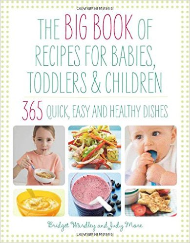Big Book of Recipes for Babies, Toddlers & Children: 365 Quick, Easy and Healthy Dishes: From First Foods to Starting School by Bridget Wardley and Judy More