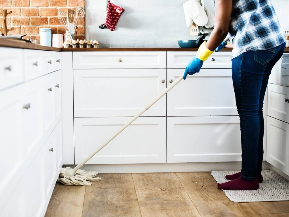 Housekeeping - A clean home can make anyone feel so much better.