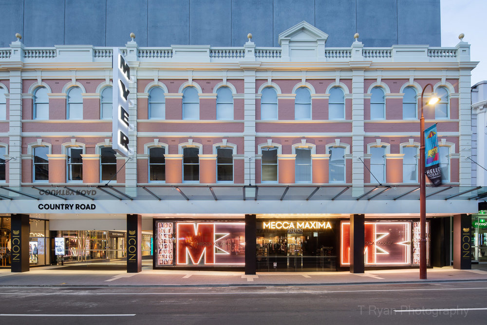 Myer redevelopment, Hobart - Kalis Property Group