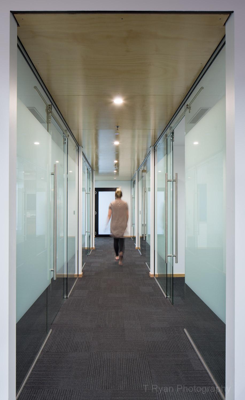 Rae & Partners Lawyers office refurbishment, Launceston - MJ Architecture