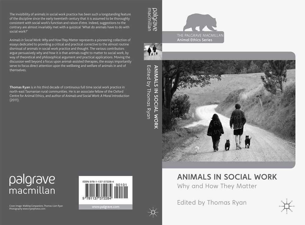 """Palgrave Macmillan, Environmental Portrait of french bulldog supplied for front cover of book publication """"Animals and Social Work: A Moral Introduction"""""""
