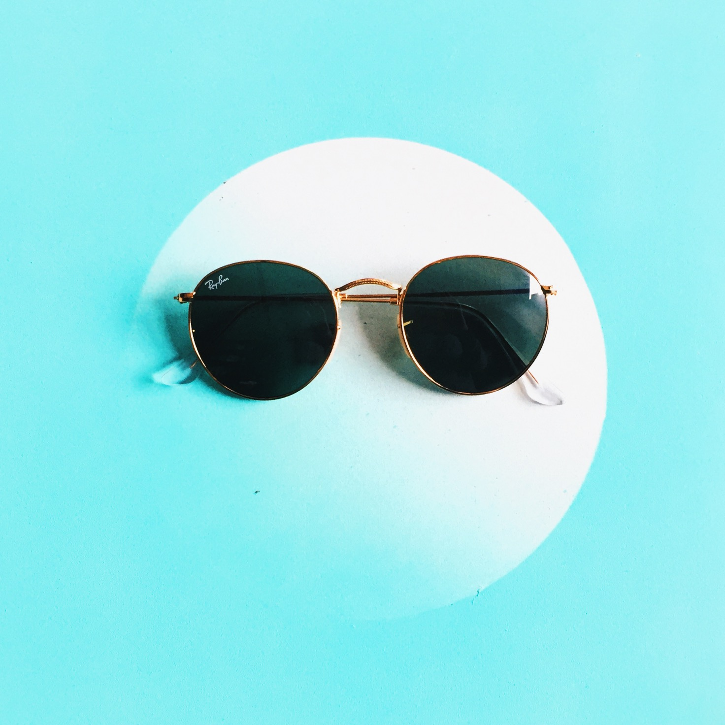 ray ban retro round sunglasses