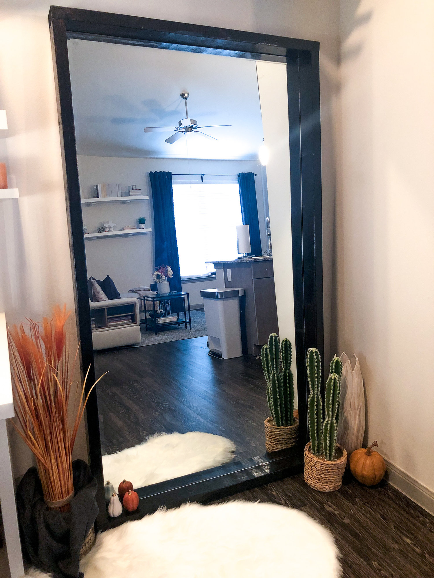 Diy Modern Mirror Re Frame What Not To Do Kayla Simone Home