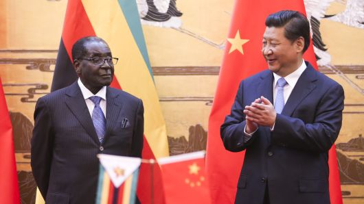 CNBC: China's Alleged Role in Zimbabwe's Coup -