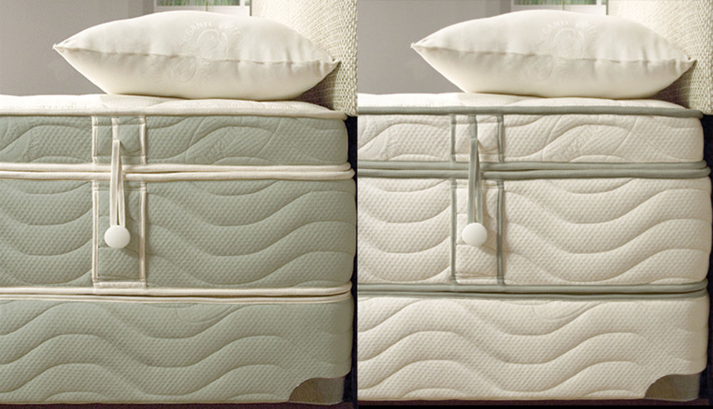 OMI Terra Mattress in Sage or Ivory