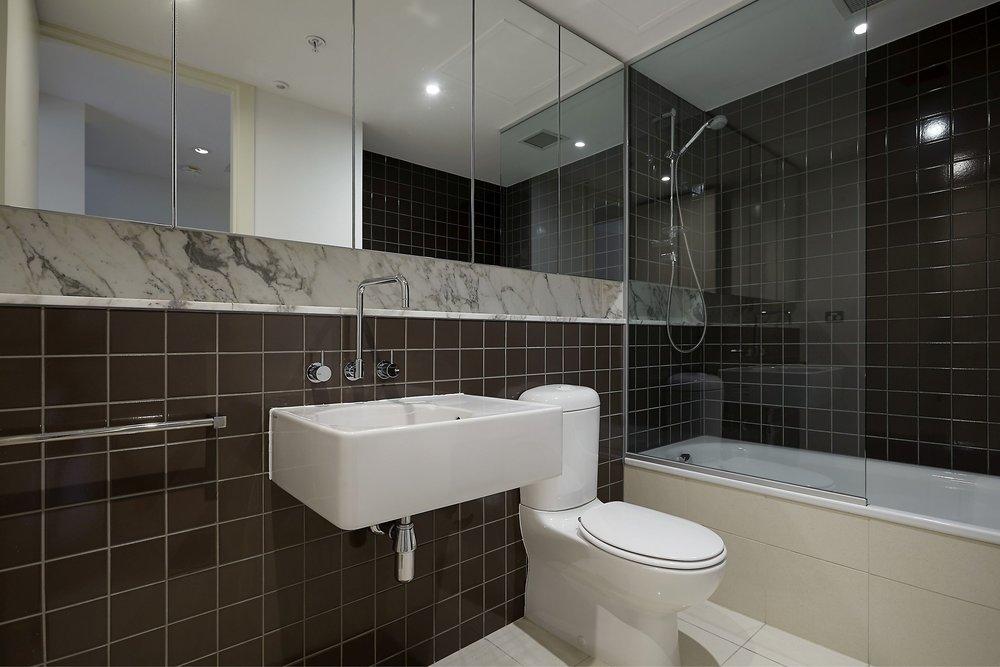 THIRD BATHROOM WITH SHOWER OVER BATH