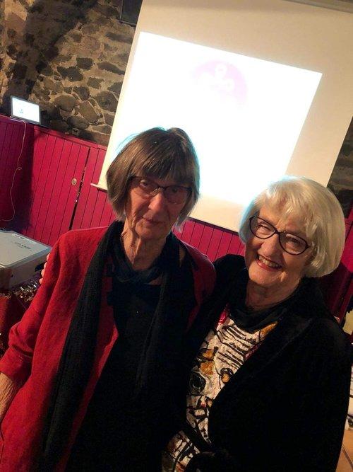 Anita Dahlberg  och  Christina Duvander