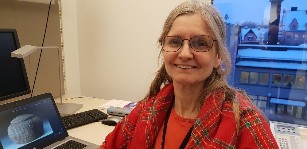 Gunilla Larsson Foto: May-Britt Öhman