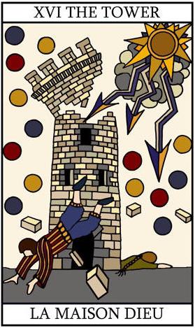 Tower XVI by tarot-lover on DeviantArt