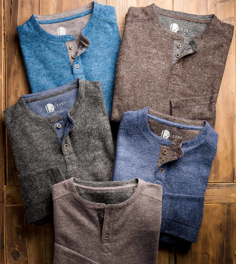 CASHMERE COTTON HENLY