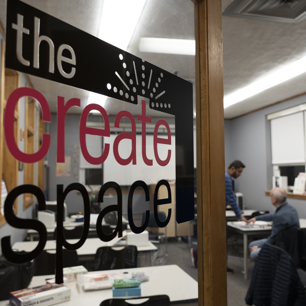CREATE SPACE EVENTS -