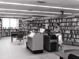 First Library Photocopier