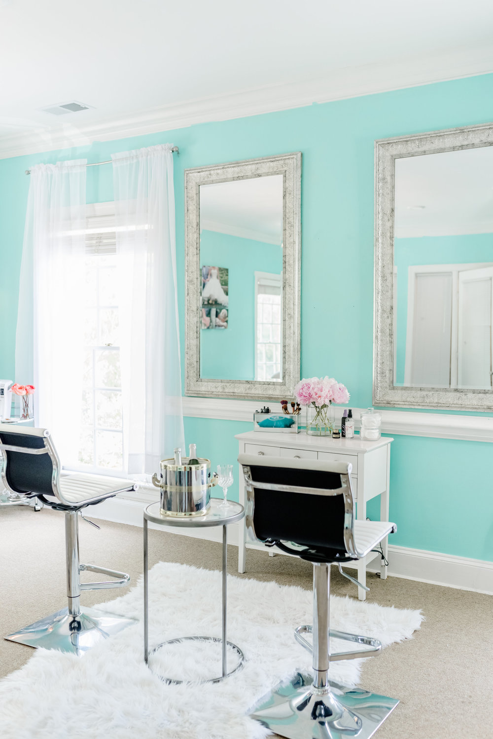 BRIDAL SUITES - More than just a place to get ready. our bridal suites come complete with a coffee/ juice bar, gorgeous hooks to hang dresses, hair and makeup stations, full kitchens, and more.