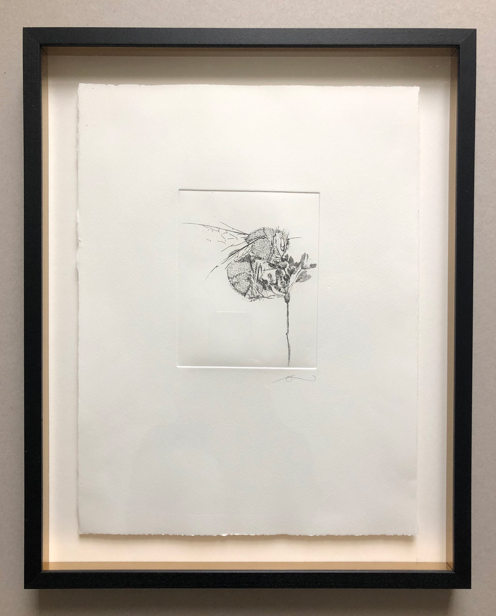 Bee-Etching--Handmade-Etching-in-black-frame-with-gold-fillets-46cm-x-37cm-.jpg