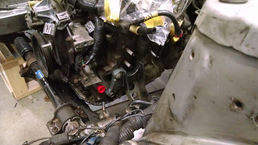 RX7-8 Custom Engine Mount
