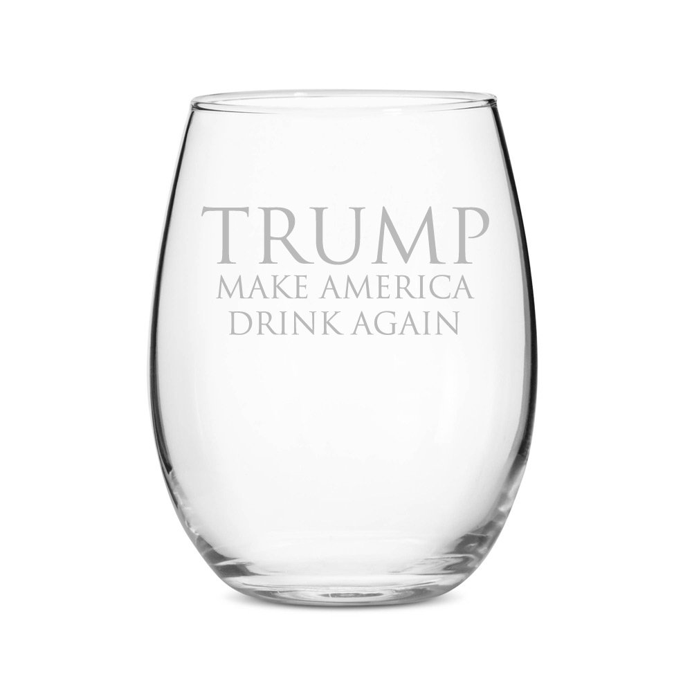 Stemless 15 oz Wine Glass - $15.99