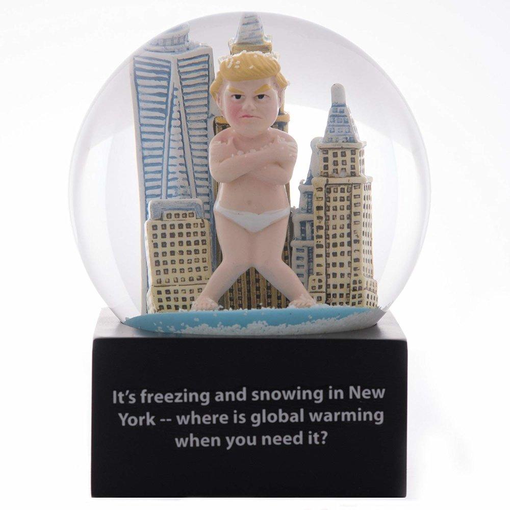 Copy of Copy of Global Warming Snowglobe - $19.95