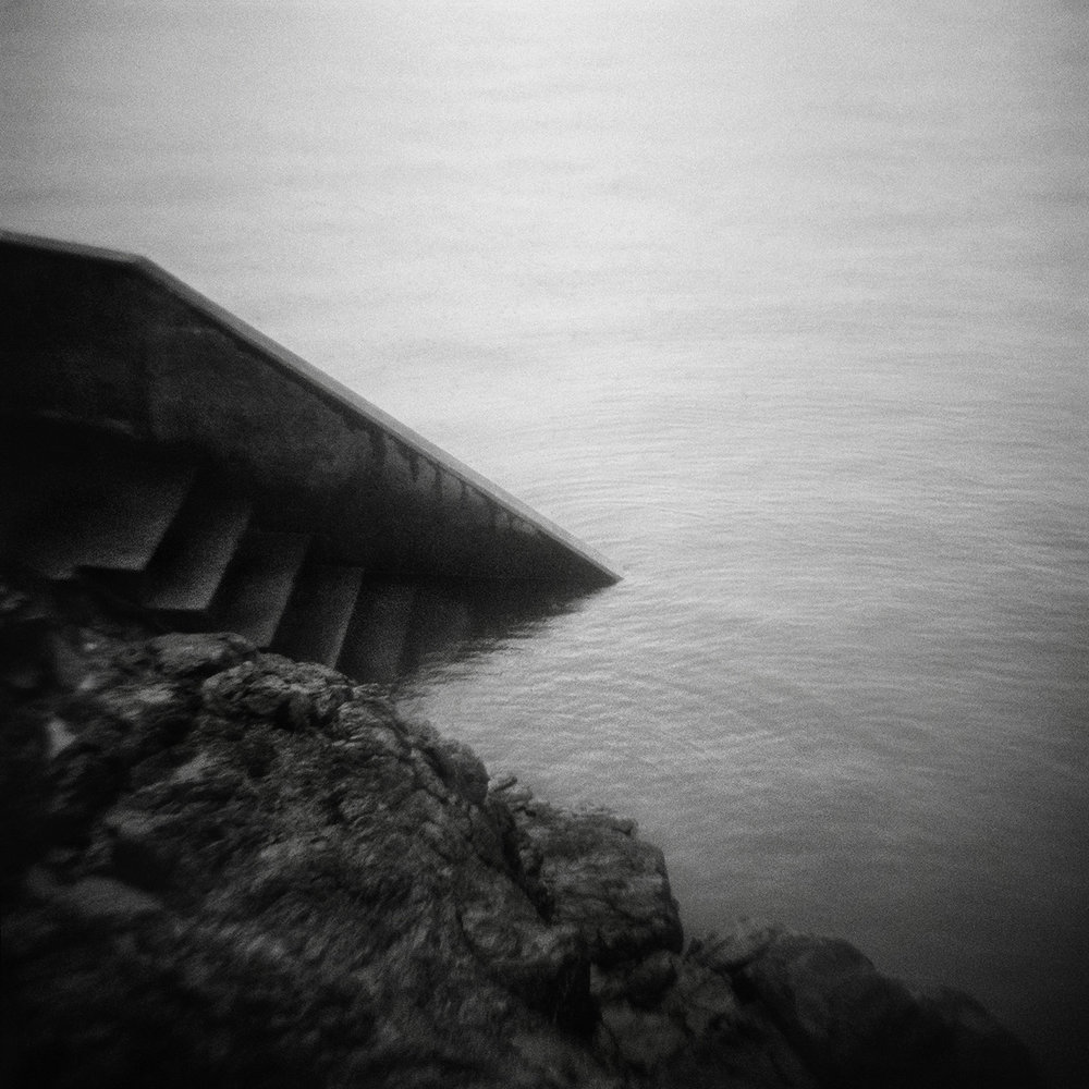 Untitled (stairs in water), 2017