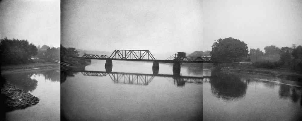 Untitled (bridge triptych), 2014