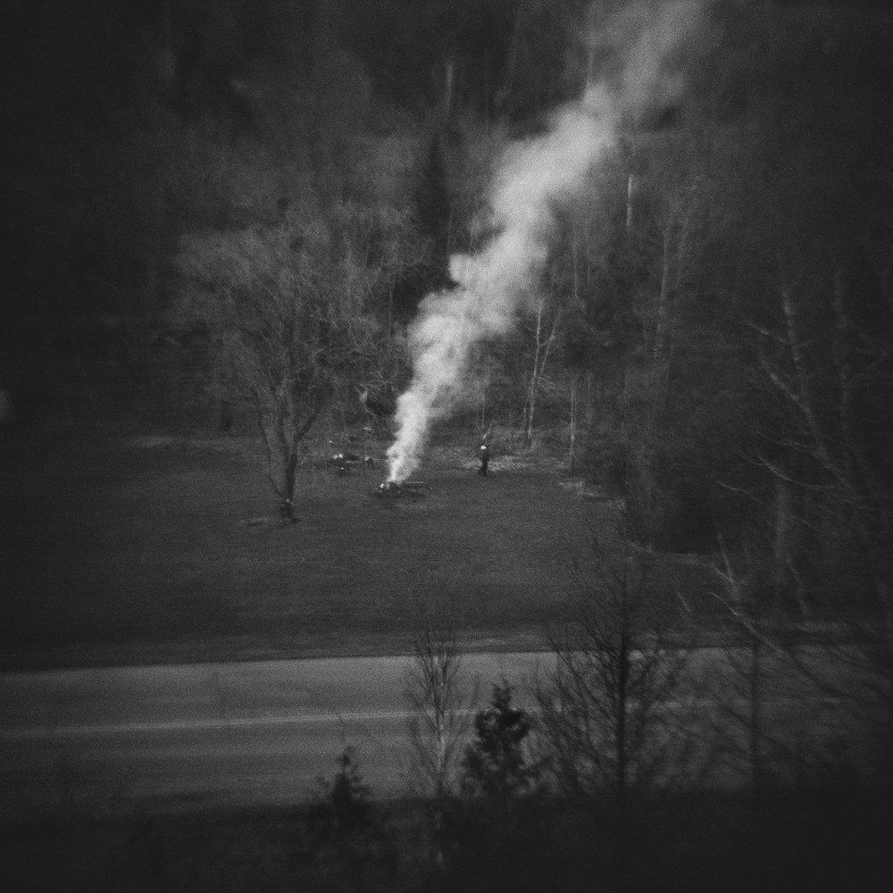 Untitled (yard fire), 2014