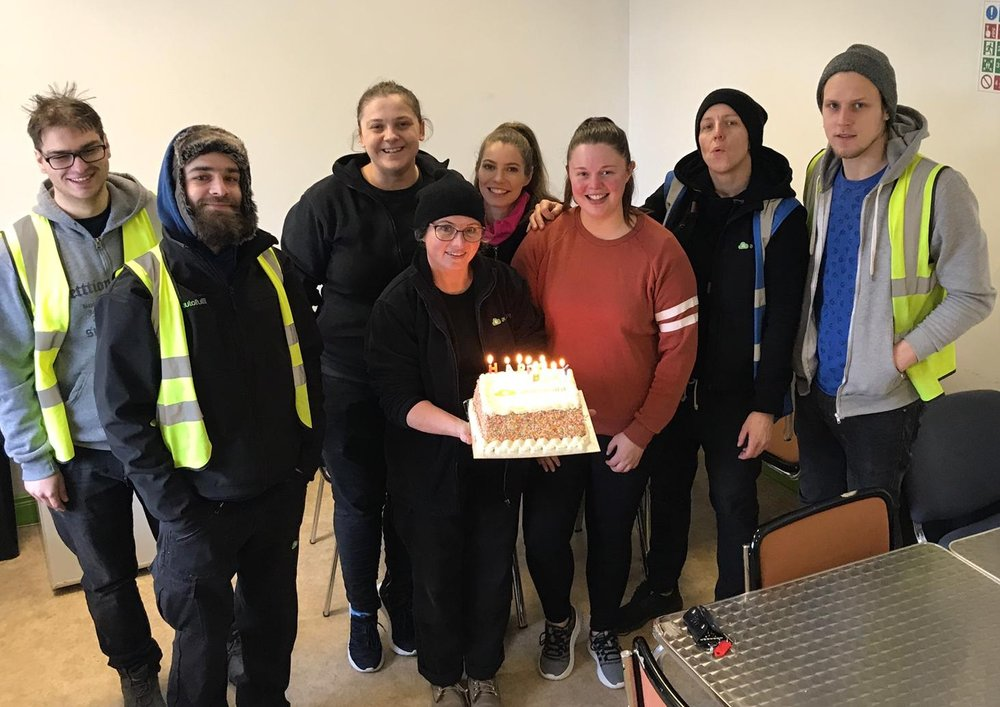 Autofulfil Fulfilment Centre Ireland - Birthday Cake and Ecommerce Fulfilment Team