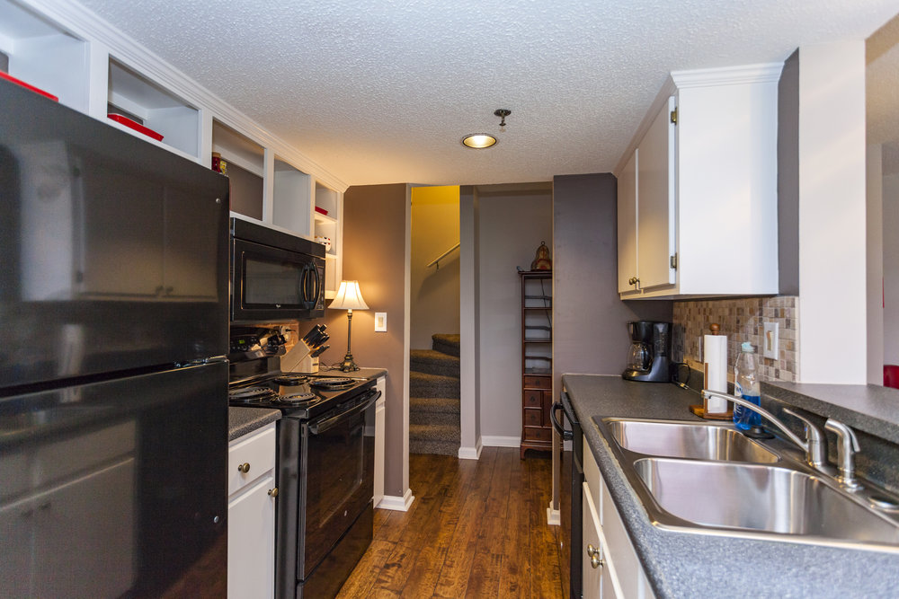 Full kitchen apartments in Nashville