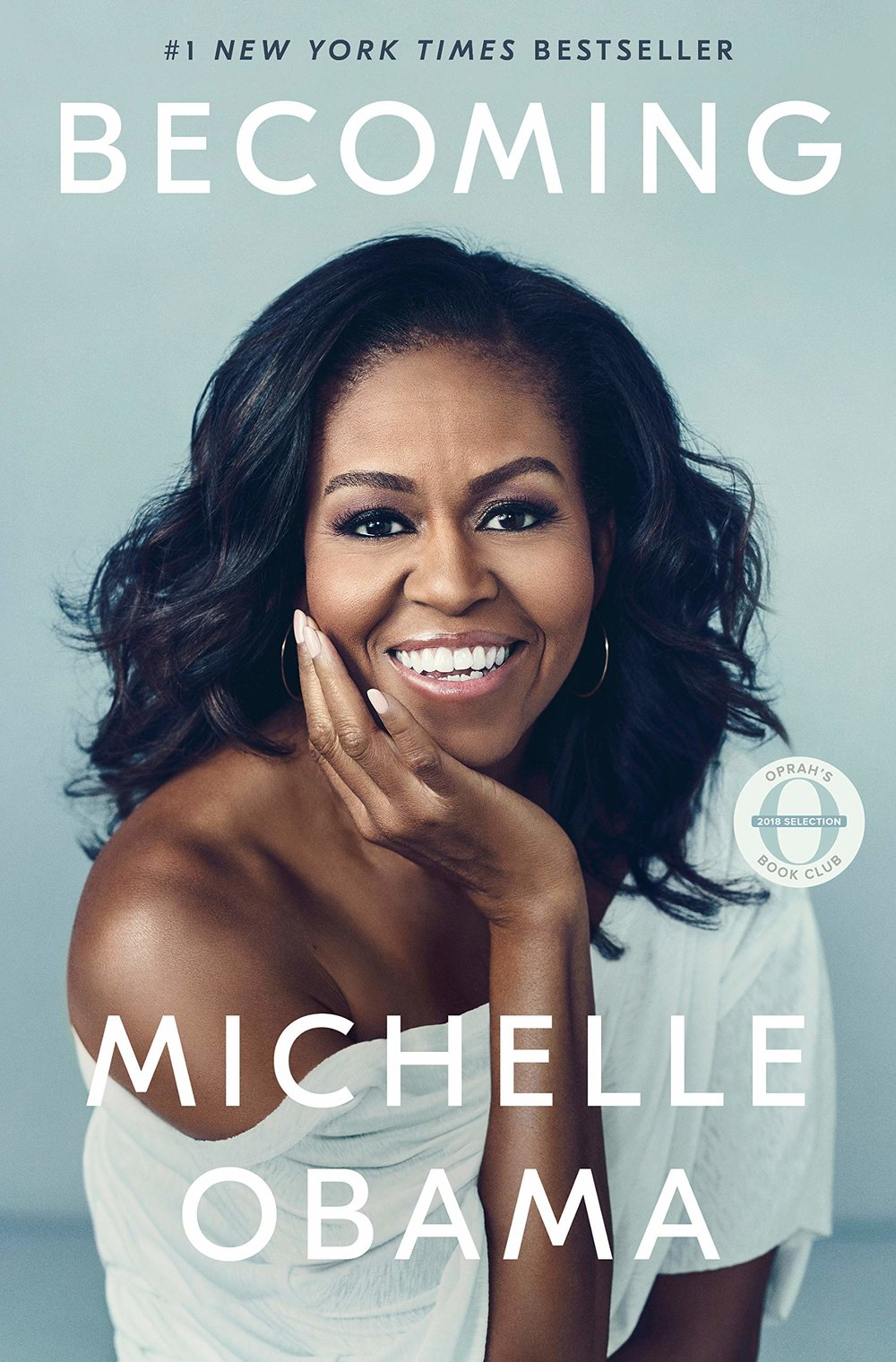 BECOMING - Michelle Obama is just amazing and everybody's favorite imaginary aunty. She tells her life story in her book 'Becoming' and I seriously can't wait to be inspired