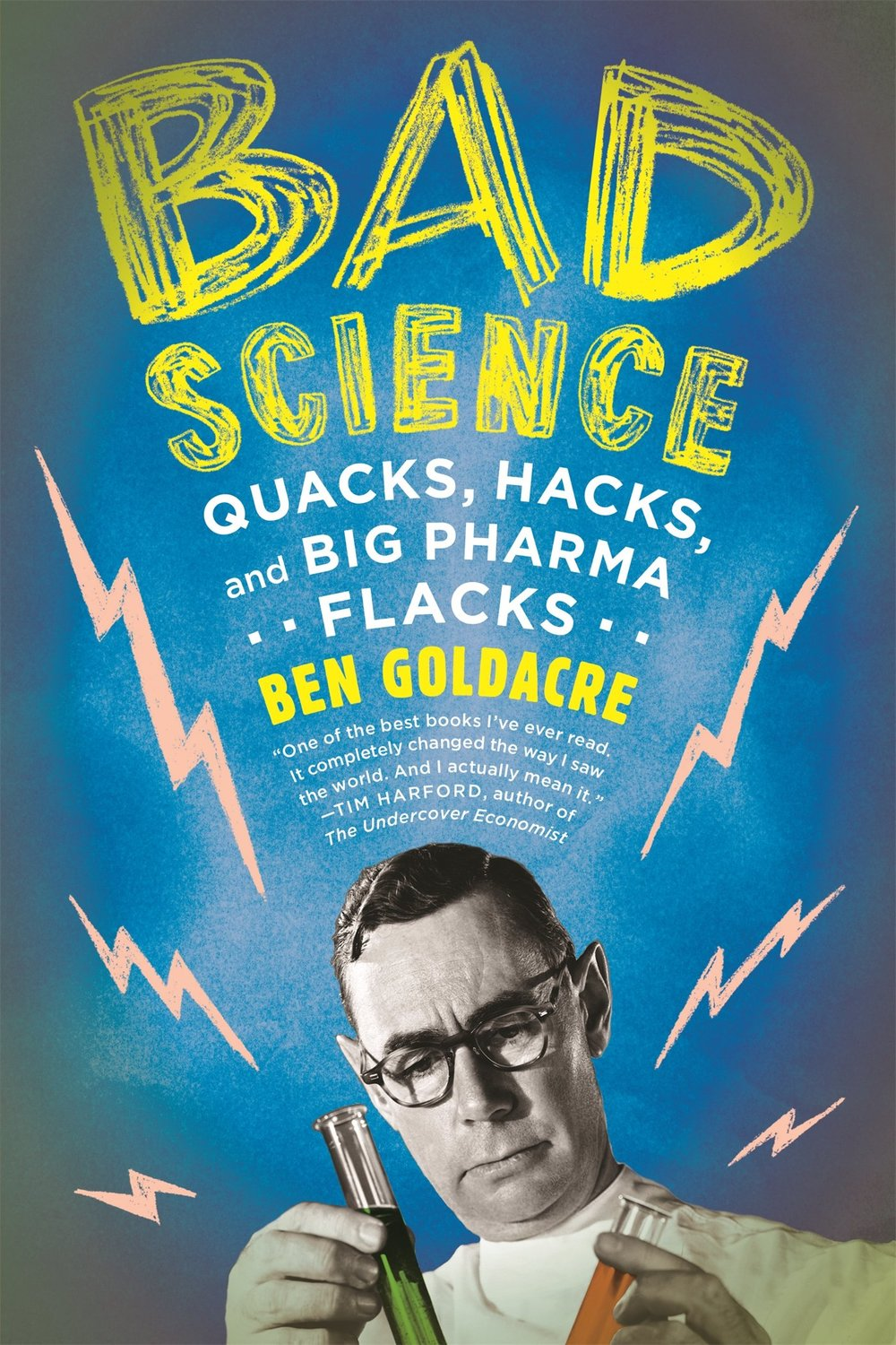 Bad science - In today's society, there is no denying that the media has taken over. You go on instagram and everybody is promoting 'Flat Tummy Tea' or some kind of bogus health hack. Recommended by another PhD student, this book investigates 'bogus science' and 'quack doctors' who often give recommendations for products and 'medicines' that have no scientific evidence to support that they are effective.