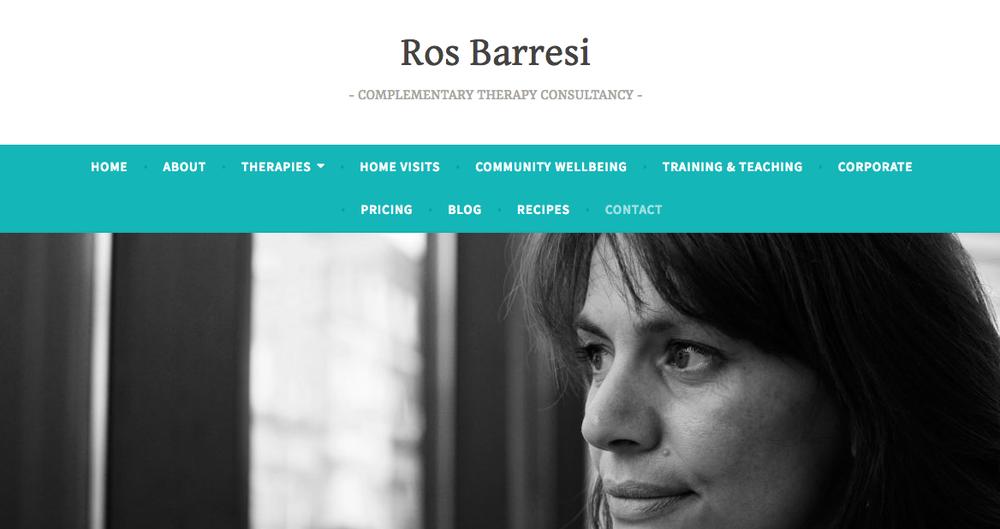 Ros Baressi website.png