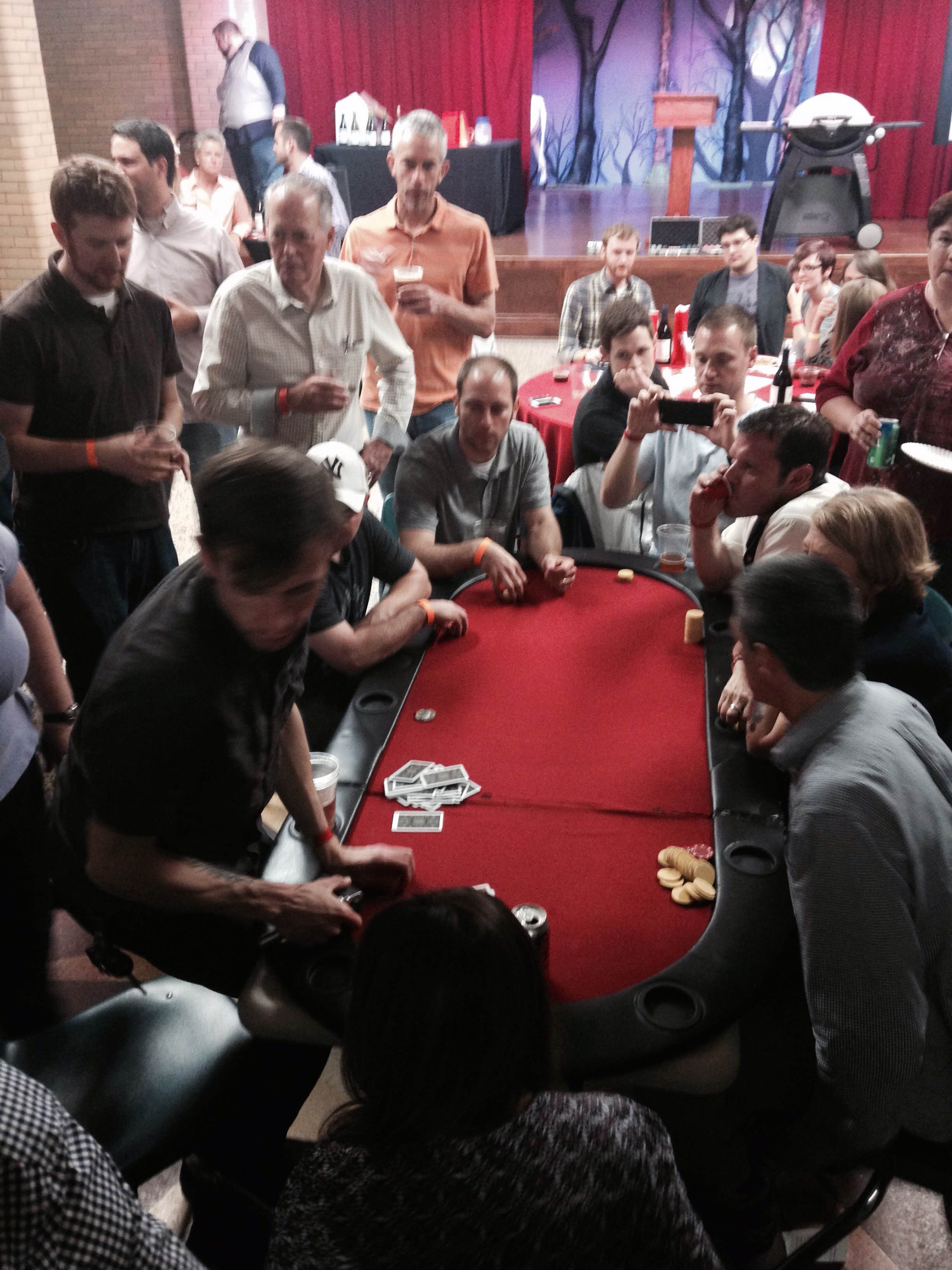 TGNCDC Poker Fundraiser 2014 Final Table