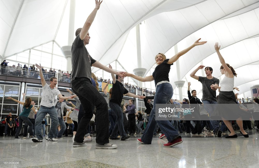 """Performance & Outreach - Prime example, the """"Denver Airport Flash Mob"""", now with over 4 million views on Youtube."""