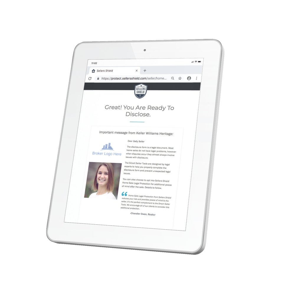 AGENT BENEFITS - – Limit liabilities and risk of lawsuits– Save time and get disclosures back sooner– Customized agent Branding with Premium package