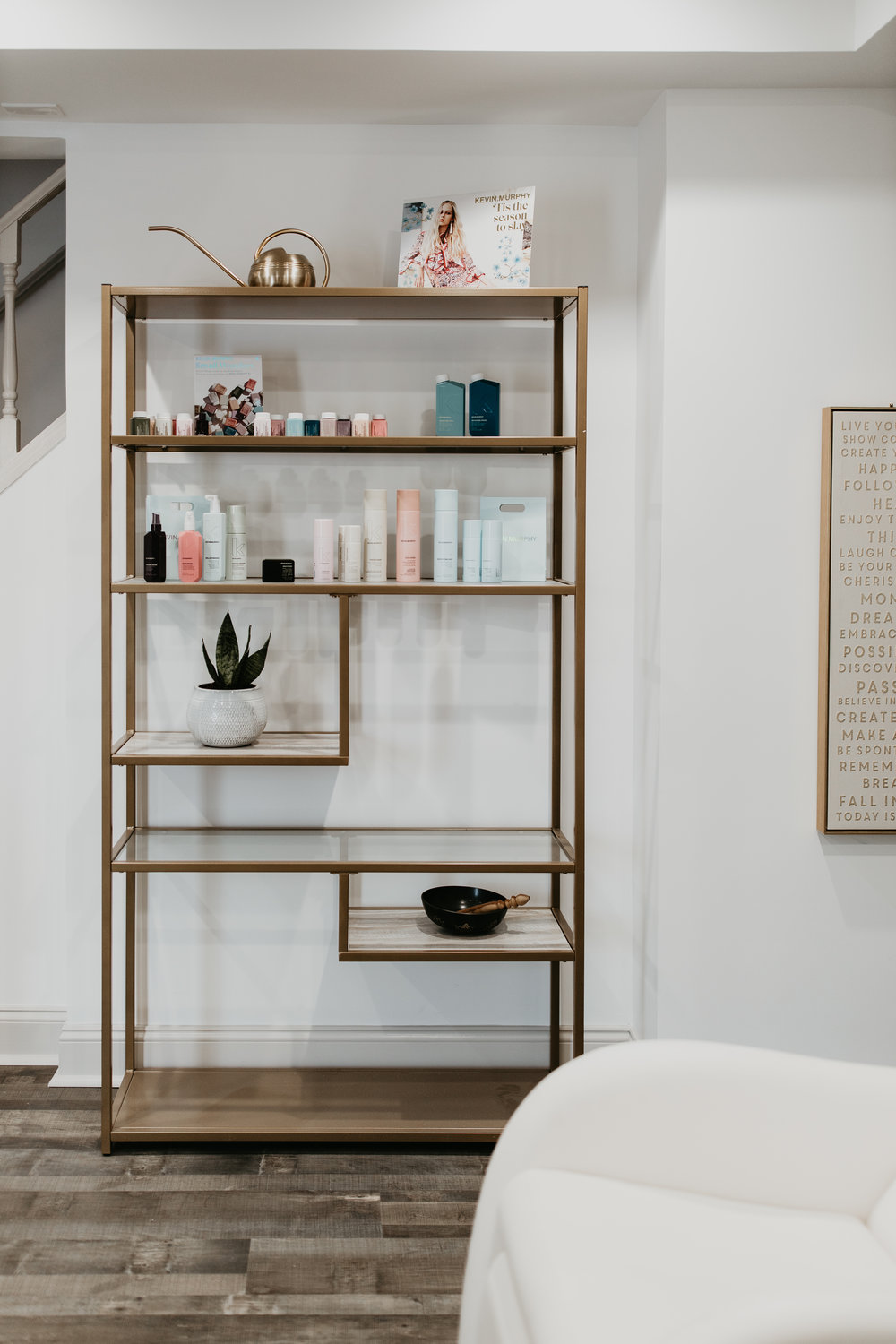 - With an emphasis on natural beauty, AtHome Beauty uses only the highest quality, all natural, cruelty-free products in our services including Kevin Murphy hair care and Oribe styling products. We believe beauty should do no harm- to our own bodies or the world we live in.