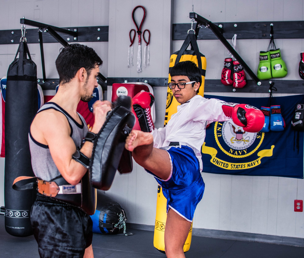 Muay Thai builds confidence & grit for kids and teens!