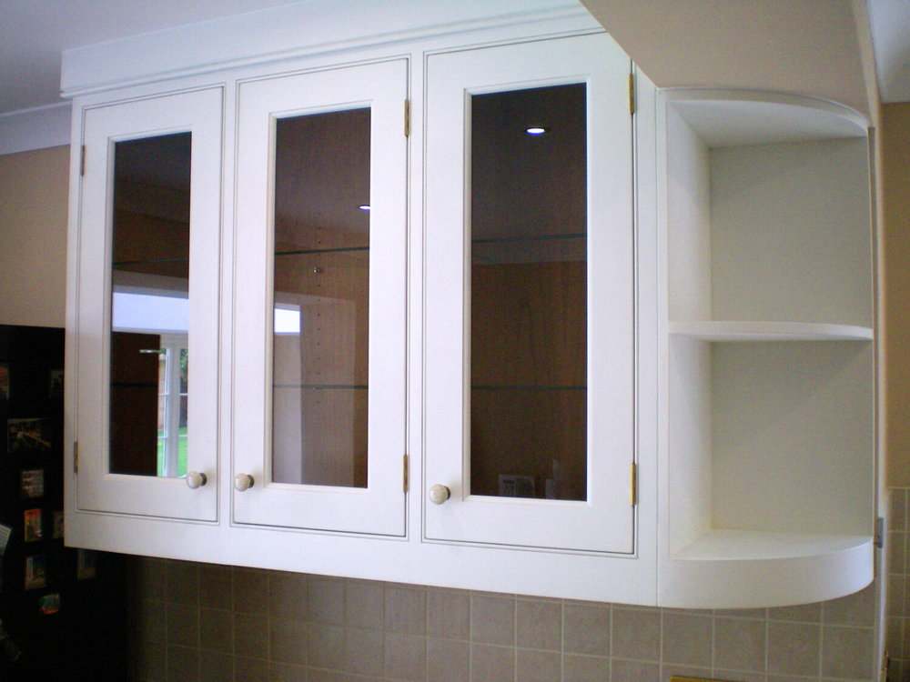 Small In-frame Kitchen display wall units