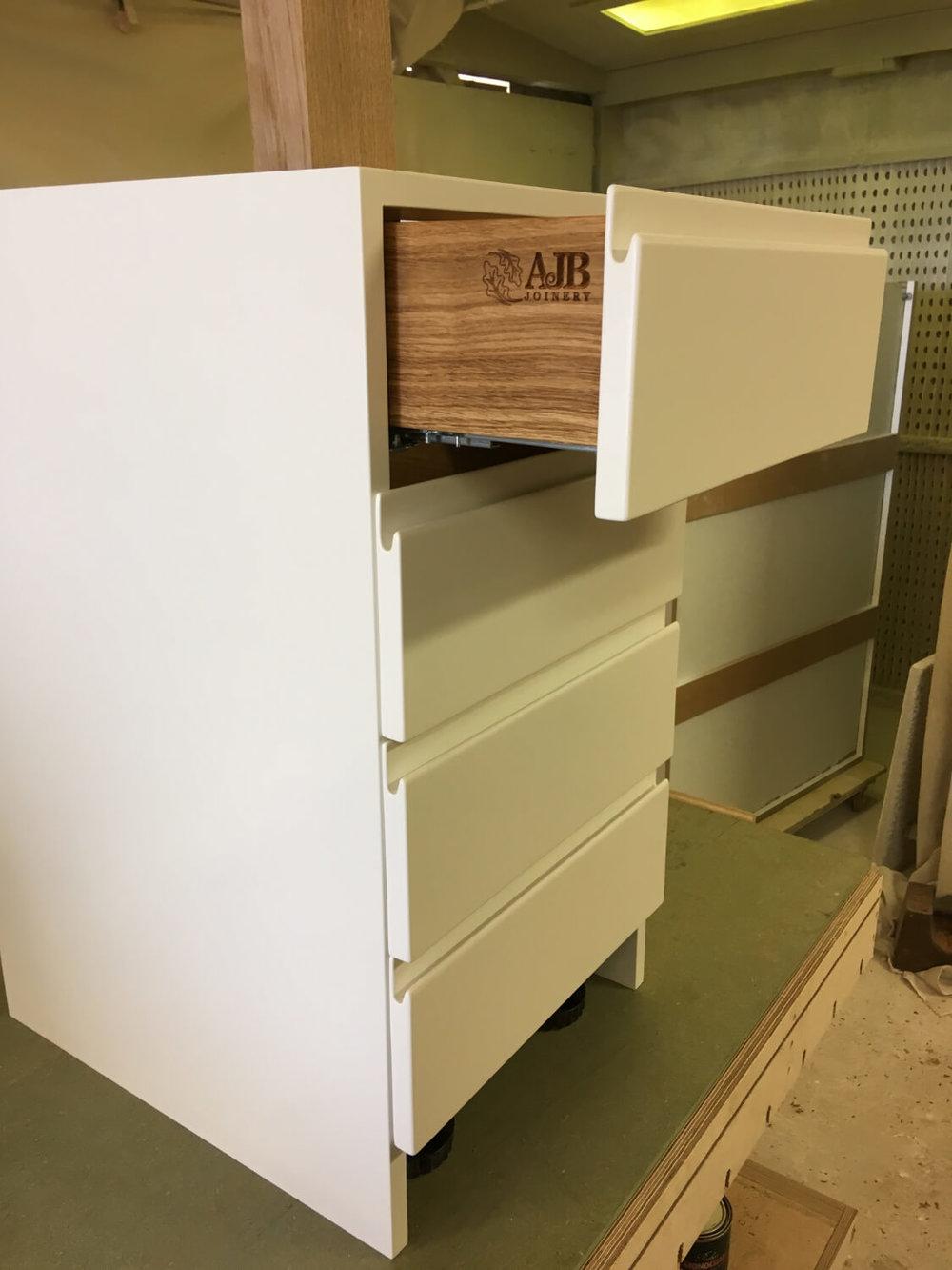 Home study drawer unit.