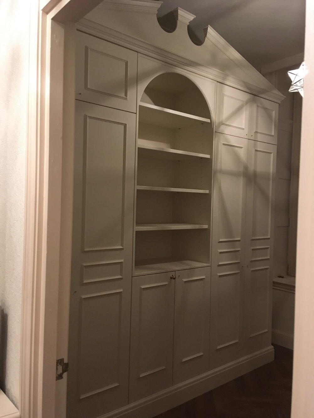 Fitted study furniture