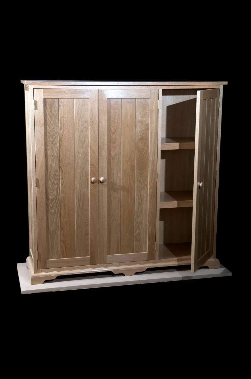 Oak file cupboard