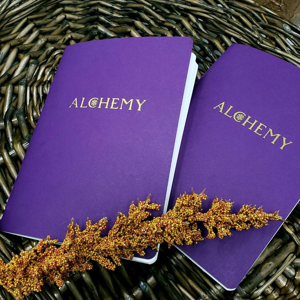 Alchemy Sketch Journal -