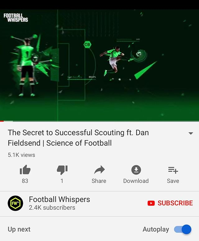 ‪Scouting is the fundamental part of football. It entails a lot and while individuals are enjoying watching football, dedicated scouts go length and breadth scouting local parks and pitches looking for the next superstar or Balon D'or Winner. ‪#CSNGlobalFootball‬ #Motivation #Scouting #Football #Soccer . . ‪🎥 https://youtu.be/Xv8WXNmnVng‬
