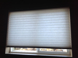 AFTER photo of the window shade we repaired
