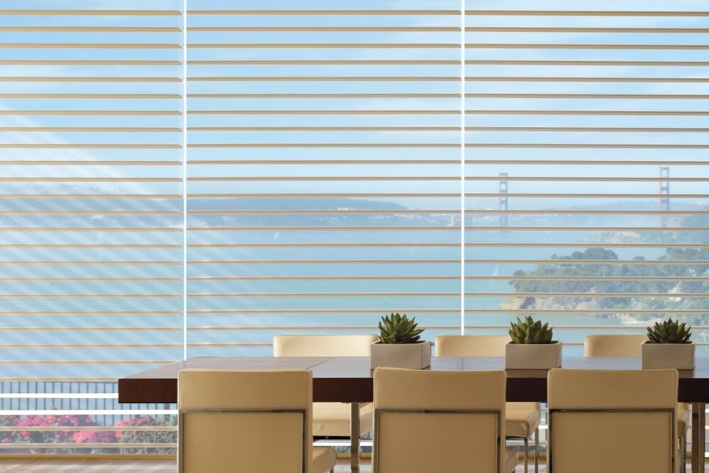 silhouette by Hunter Douglas -Lovitt Blinds & Drapery - www.lovittblinds.com