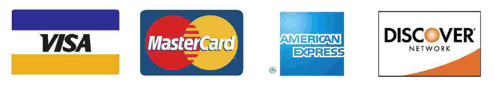 Accepted Forms of Payment - Cash, Personal Check, Major Credit Card/Debt, Health Savings Account, & Cigna EAP's