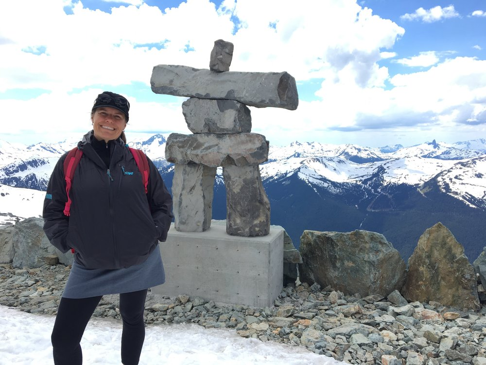 Claudia Williams of 55 by 55 Travel at Whistler Canada