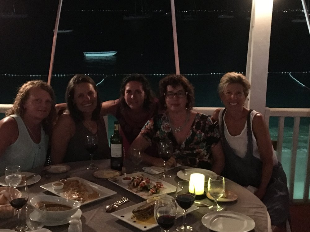 Dinner with Friends - St. Martin - 55 by 55 Travel